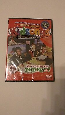 Kidsongs TV Show DVD  Paractice Makes Perfect.