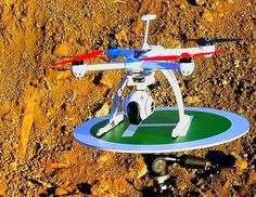 Picture of Drone/ Helicopter Landing Pad (Tripod Mount)