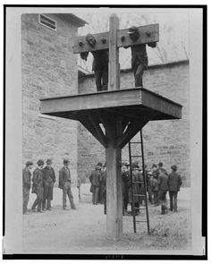 Pillory and whipping post - Delaware 1889 - Pixdaus