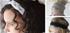 Braided Headband - easy to make out of knit fabric or t-shirt