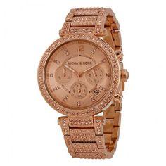 d682ed043028 Michael Kors MK5663 Women s Watch Rose Gold Gold Face