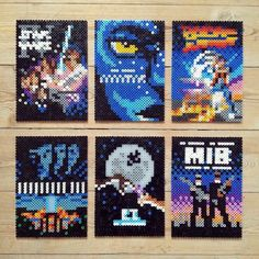 Image result for cuphead perler beads easy