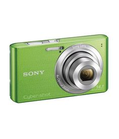 Sony CyberShot W610 14.1 MP Point & Shoot Camera (Green) comes with easy-to-use functions for an effortless photography experience. Boasting features like SteadyShot image stabilisation, 4x Optical Zoom and Intelligent Auto mode, it empowers you to shoot quality pictures anytime, anywhere.