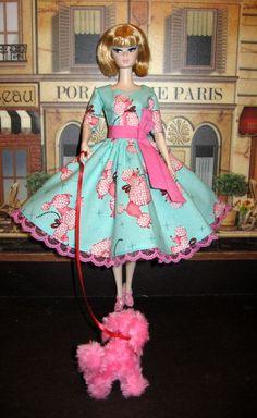 Barbie Silkstone Poodle Parade