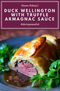 This beautiful Duck Wellington recipe by historical food writer Deana Sidney makes a fantastic meal for two.