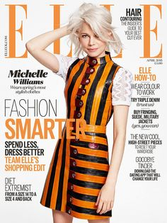 Michelle Williams For Elle UK April 2015