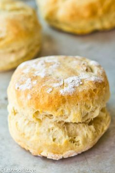 You'll love how easy these soft, flaky Amish Buttermilk Biscuits are. They come together in less than 30 minutes. Hints for making them perfectly.