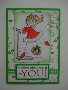 (2015) An additional Christmas card to my 2015 collection for my young niece and grand daughter.