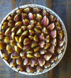 Check out this beautiful...Fig tart!