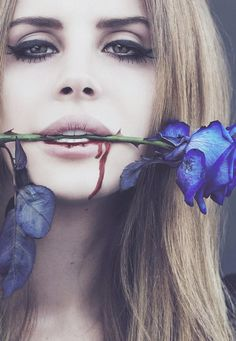 Blue rose...x Lana del Rey