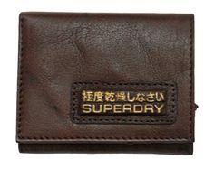 Superdry Mens 3 Fold Leather Wallet – Moyheeland Traders
