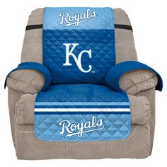 MLB Kansas City Royals Recliner Slipcover, Durable