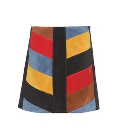M.I.H JEANS Suede Skirt. #m.i.hjeans #cloth #skirts