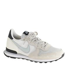 Neutral grey size 10 medium Women's Nike® Internationalist mid sneakers : sneakers | J.Crew