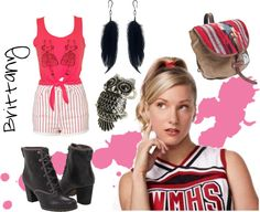 """""""Brittany s. Pierce day Outfit 2"""" by luciataietta ❤ liked on Polyvore"""