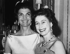 Her Majesty and Mrs Kennedy