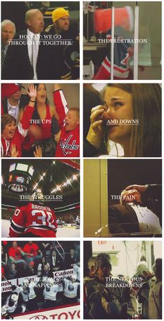 A true fan knows: hockey is way more than just a game