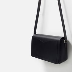 LEATHER MESSENGER BAG - View all - Bags - WOMAN | ZARA United Kingdom