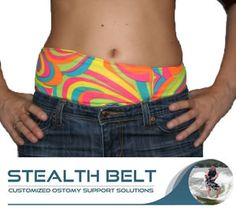 Stealth Belt | Choice of Belt | Measuring for your Belt | Children | Swimwear | Order a Belt  The Stealth Belt Custom Children's Ostomy support belt is specially made for all daily activities, Water sports, Swimming, General Sports and School activities. Children's custom designed Ostomy support belts are available in many stylish colours and patterns plus the standard black to match with school uniform. Our Children's Ostomy support belts provide confidence and security for Children and…