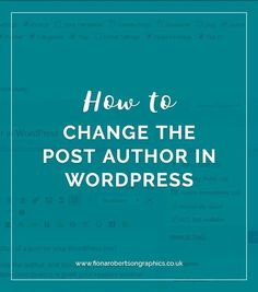 By default, the author of a post will be the user who�s created it. But there are times when you�d want to change that. Like, if you�re uploading a post for someone else. Today I�ll show you two easy ways you can change the author of a post in WordPress.