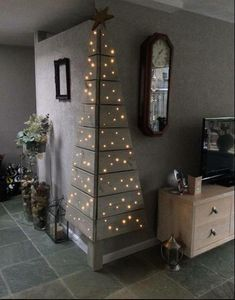 Christmas Tree made from pallets !