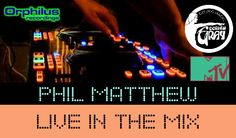 Phil Matthew Live in the Mix at Orphilus Radio Lounge and Disco Mobile & Mixcloud London UK England / Great Britain / United Kingdom