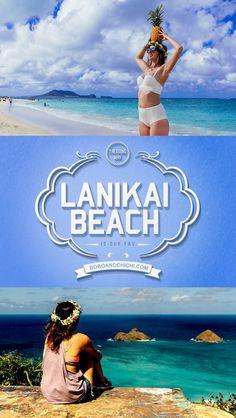 7 Reasons why Lanikai beach is the best beach in Oahu Hawaii!