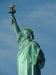 #2 went here in middle school... The Statue of Liberty New York...Most important landmarks of the world