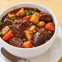 Crock Pot Country Beef Stew Recipe and other crock pot recipes Power Cooker Recipes, Pressure Cooking Recipes, Crockpot Recipes, Cubed Beef Recipes, Crockpot Beef Stew Recipe, Tefal Cook4me Recipes, Crock Pot Stew, Tupperware Pressure Cooker Recipes, Slow Cooking