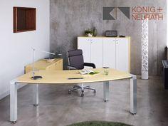 Chef Schreibtisch #ChefSchreibtisch Büromöbel #Büromöbel König+Neurath Büromöbel