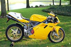 Ducati 748. While glory hunters will always be attracted to 916/999 larger engined dukes, afficianados reckonize the superiority of the lighter, faster handling and freer revving nature of the little brothers, 748/749.