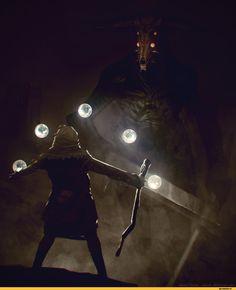 DS art,Dark Souls,фэндомы,Capra Demon,DS персонажи,Chosen Undead