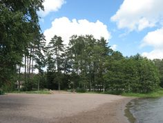 The beach of Toppelund (Espoo, Finland).