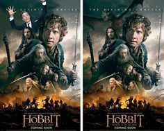 Benedict Cumberbatch decided he wanted his face on the poster too. Which do you think is better?