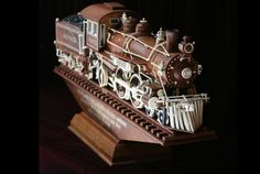 Visit the handmade trains of Mooney Warther in Ohio.