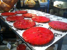 Les garçons Boulangers, des Lyonnais qui régalent les Clermontois ! Une de leurs spécialités, le sablé aux pralines roses...