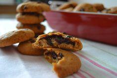 Bolachas de chocolate e abóbora - gluten free