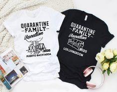Quartine Family Vacation Shirts/ Kids Quarantine Shirt/ Couples Quarantine Shirt/ Matching Quarantine Shirt/ Funny Quarantine Shirt/ Vacay - Funny Kids Shirts - Ideas of Funny Kids Shirts - Family Vacation Shirts, Disney Shirts For Family, Family Shirts, Funny Kids Shirts, Dad To Be Shirts, Cool Shirts, 21st Birthday Shirts, Disney Birthday Shirt, Birthday Stuff