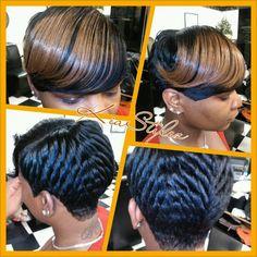 Bob Cut By Shalon Salon Hair Styles Pinterest Bobs Cuts And