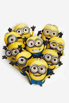 having a bad day?? just remember the minions LOVE you