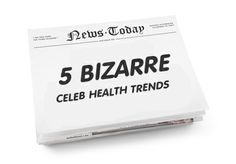 "It is easy to miss simple lifestyle changes you can make to improve your life. So I'm going to mash up a ""bizarre celeb health trends"" list I stole from Chatelaine and the key points from the health calculator. You won't be able to resist my list! http://qoo.ly/z8ym #CelebHealthTrends"