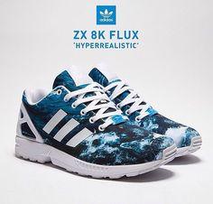 hot sale online 841bc de50a Adidas Zx Flux
