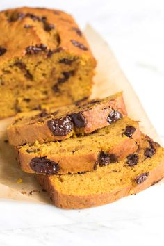 Chocolate Orange Pumpkin Bread