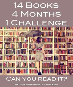 Book challenge. Could be a fun way to force myself to read something different.