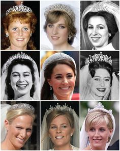 Tiara time! 👸🏻  As the traditional tiara etiquette states, the first time a woman can wear a tiara is on her wedding day. On Saturday we will likely see Meghan Markle wearing a tiara, either borrowed from The Queen or custom made for her. Swipe left to see some of the likely tiaras Meghan could choose from if she is to pick from Her Majesty's vault.   Tiaras are traditionally worn to white tie events, such as the annual diplomatic reception or state banquets. There are far less…