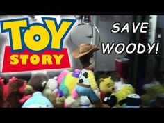 Journey to the Claw Machine - Save Toy Story Woody! Sheriff Woody, Claw Machine, The Claw, Toy Story, Some Fun, Fun Things, Claws, Snoopy, Journey
