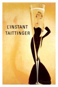 オールポスターズの「その瞬間 - テタンジェ - グレース・ケリー」高品質プリント