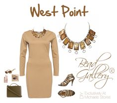 West Point lookboard by @dyezbakmoore featuring #BeadGallery #beads available at @michaelsstores