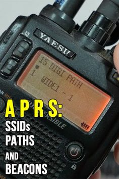 With APRS or the Automated Packet Reporting System, we can control how our packets are disseminated in the system by choosing the appropriate path, beacon rate and SSID settings. Emergency Radio, Emergency Preparedness, Mobile Ham Radio, Ham Radio Operator, Forms Of Communication, Two Way Radio, Energy Technology, Electrical Engineering, Information Technology