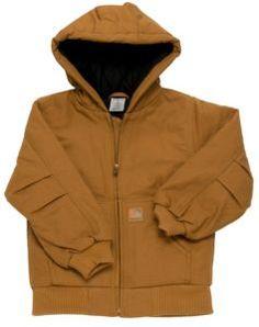 Carhartt® Kids' Carhartt Brown Active Jacket   Cavender's